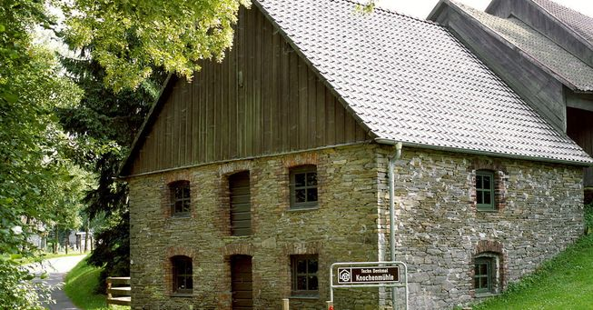 Knochenmühle in Mühlhofe